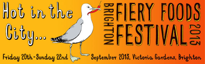 Fiery Foods UK Chilli Festival 20th-22nd September, Brighton